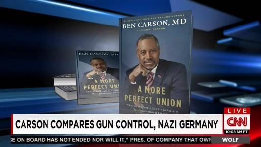 Ben Carson Links Gun Control to Hitler's Rise