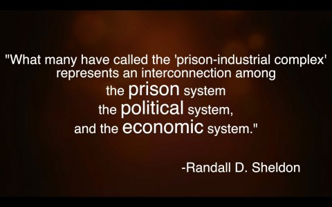 The Prison-Industrial Complex: Why we need publicly funded elections